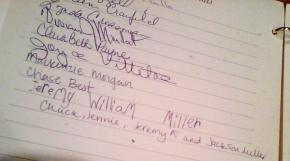 Jeremy's Signature