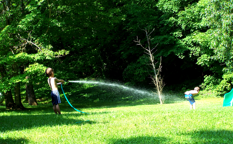 Give a Kid a Water Hose