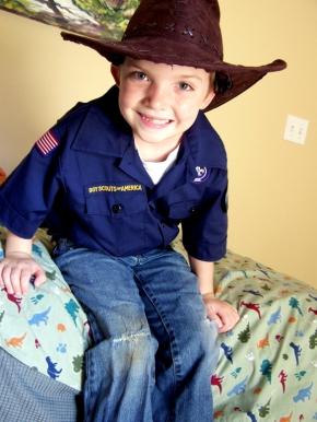 Cub Scout Anticipation