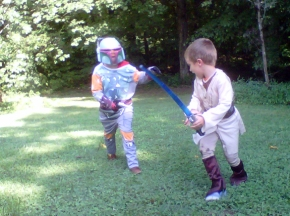 Obi Wan and the Bounty Hunter