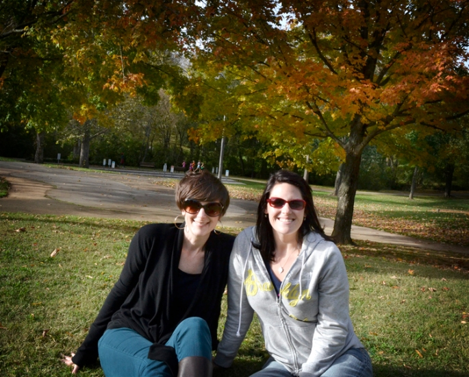Michele and Jennie, Maryville 2012