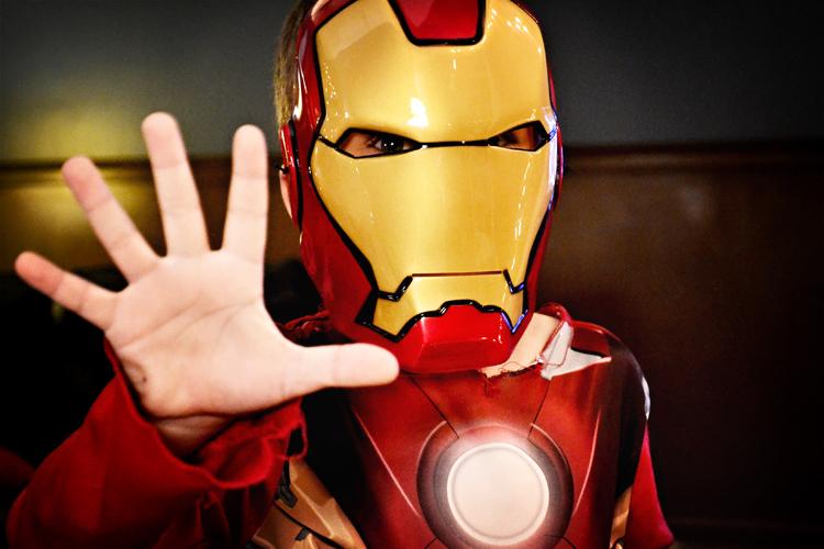 My son Tony Stark