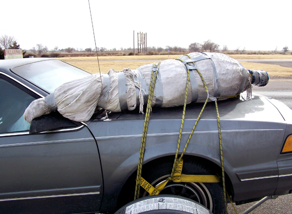 Taking the 2008 tree to Texas