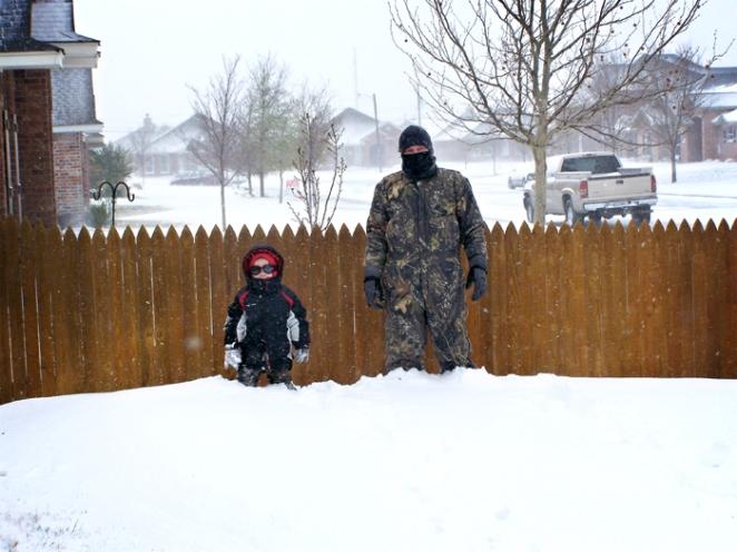 First Amarillo Blizzard