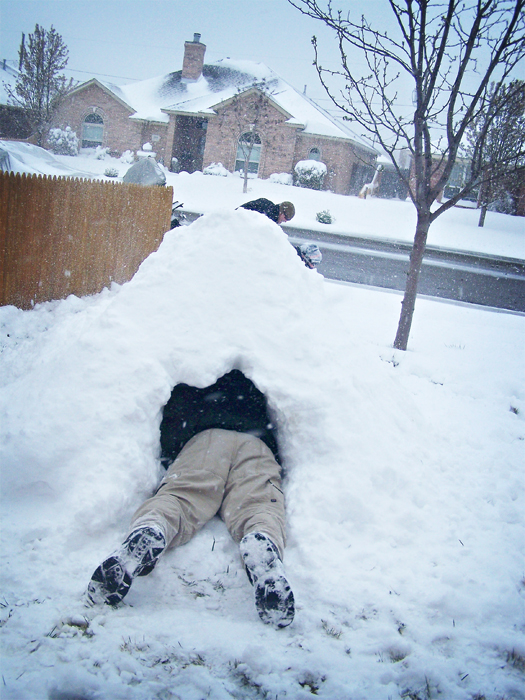 the first igloo