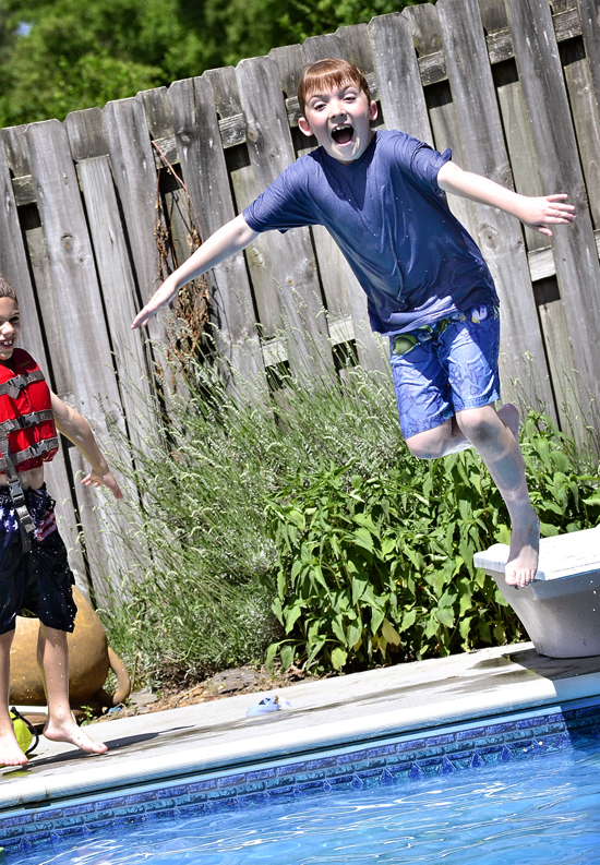 Jeremy jumps in