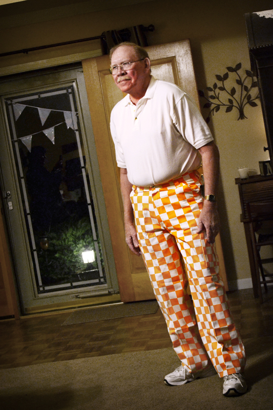 Bill in Vol Pants