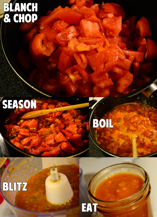 how I make salsa