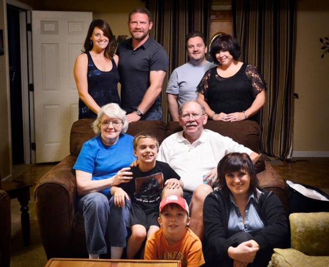 Miller Family, 2013