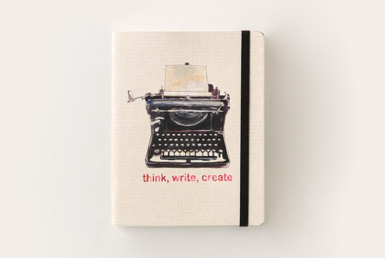 think write create typewriter