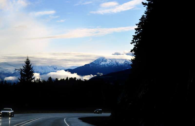 Drive from Whistler