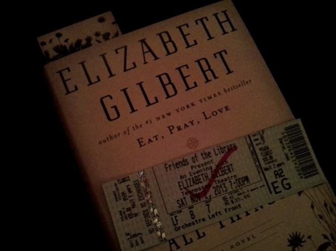 An Evening with Elizabeth Gilber