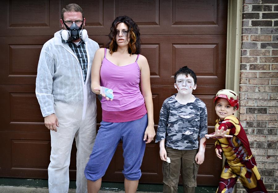 Miller Family Halloween 2013