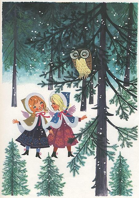 Vintage Christmas Illustrations.Vintage Christmas Illustrations Jennie Creates