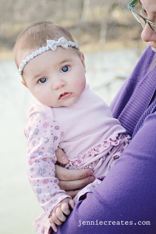 Catherine at three months
