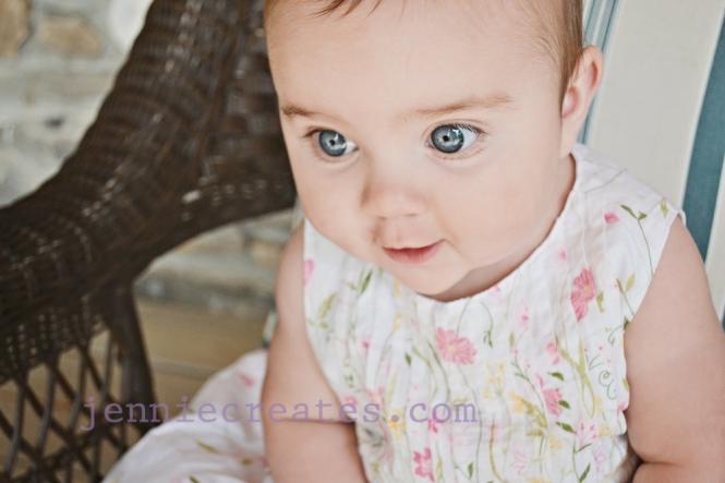 Catherine's blue eyes