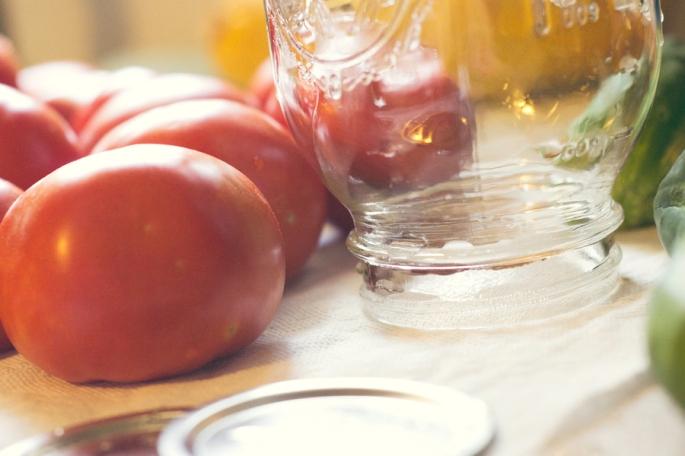 prep tomatoes