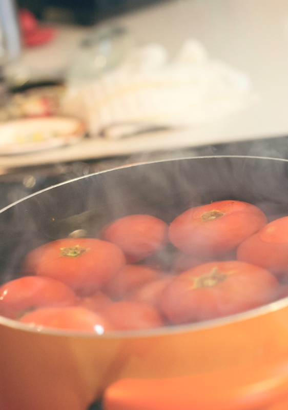quick boil tomatoes
