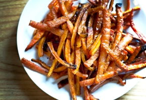 roasted carrot sticks