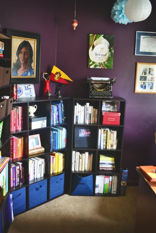 Corner with portrait