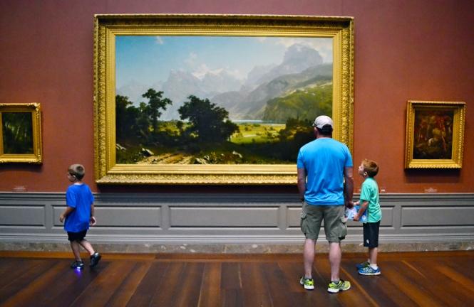 Gallery gazing