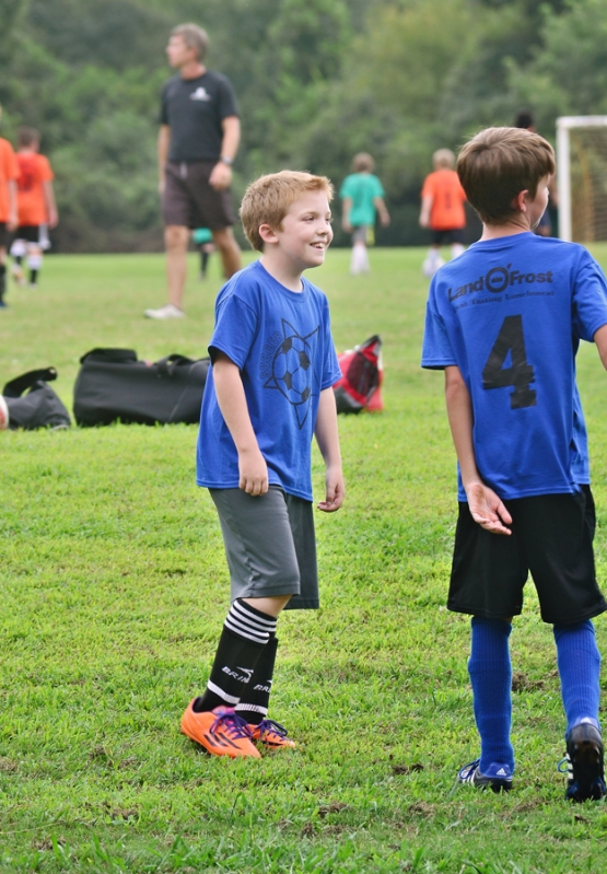 Jeremy's first soccer game