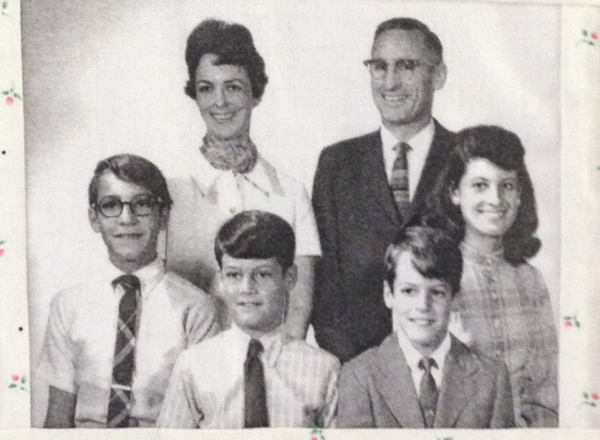 The Thomas family in the 1960s