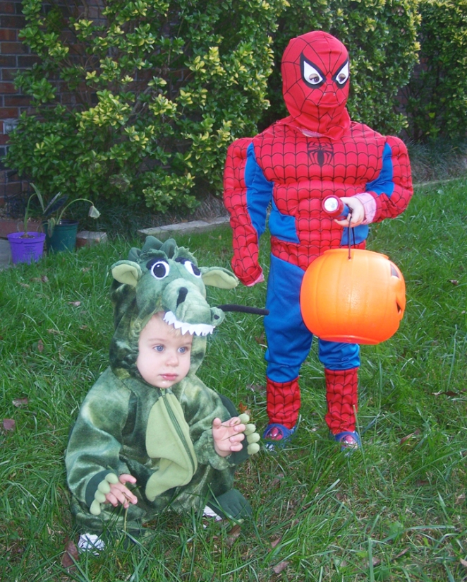 Dragon and Spiderman in 2007