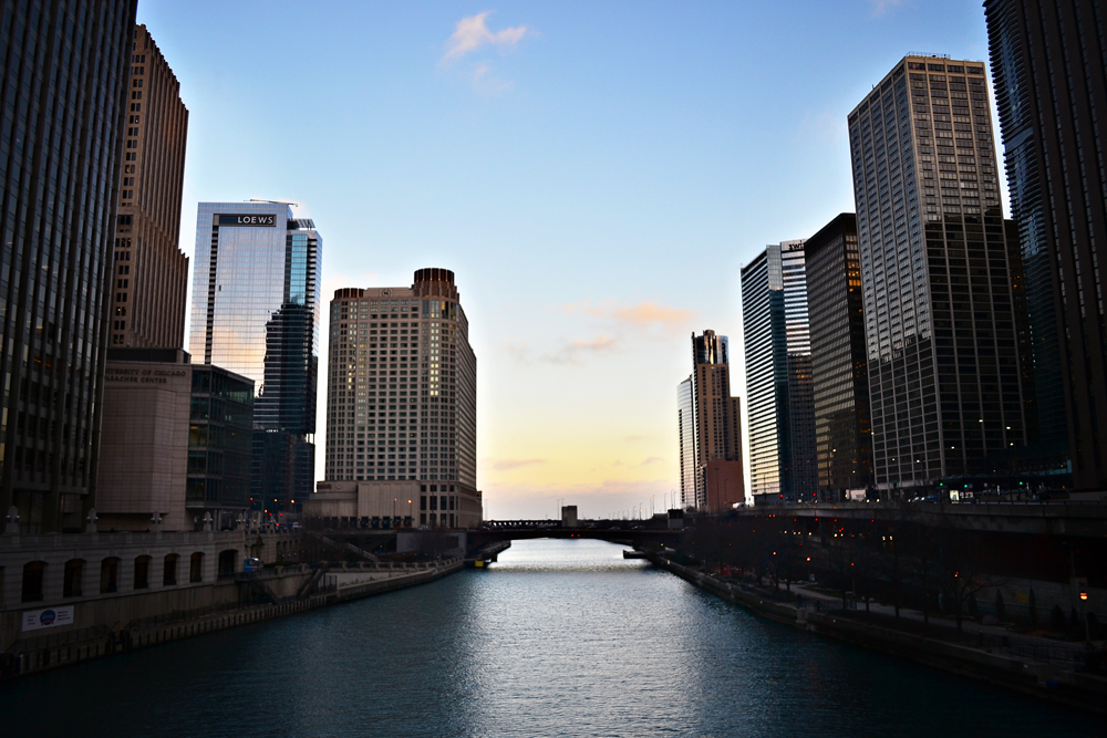 Chicago River to the Lake
