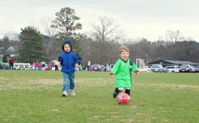 Jeremy's first soccer season